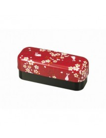 BENTO BOXES - SCATOLE PER IL BENTO SAKURA USAGI - LONG RED