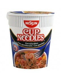 RAMEN ISTANTANEO  CUP NOODLES GUSTO GAMBERETTI