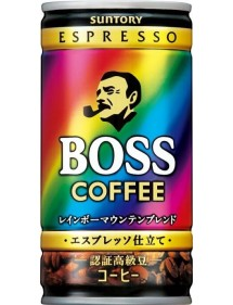 CAFFE IN LATTINA  BOSS RAINBOW MOUNTAIN BLEND