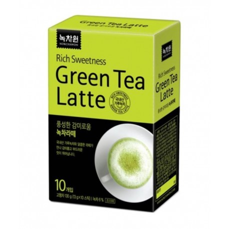 BEVANDA CALDA  GREEN TEA LATTE