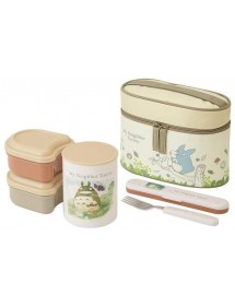 BENTO BOXES - SCATOLE PER IL BENTO  TOTORO THERMAL BOX IVORY