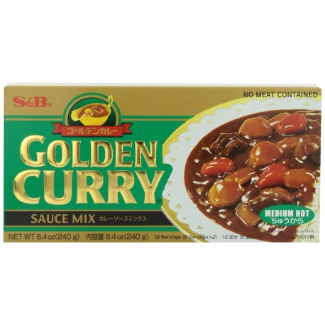 CURRY GIAPPONESE IN BLOCCHI  GOLDEN MEDIUM HOT