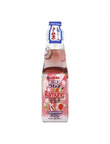 SOFT DRINK - RAMUNE  FRAGOLA