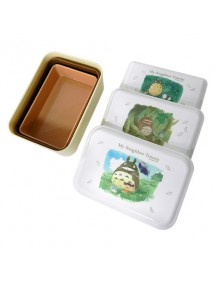 BENTO BOXES - SCATOLE PER IL BENTO  TOTORO WATERCOLOR SET