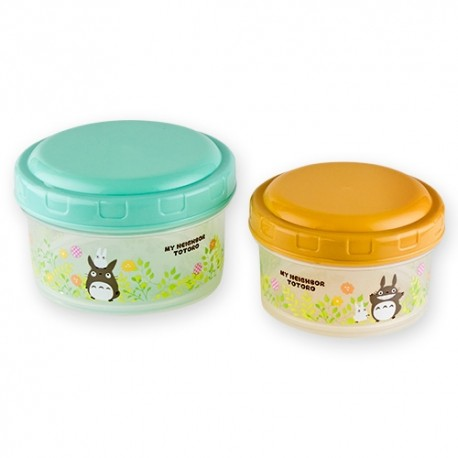 STUDIO GHIBLI SET TOTORO FIELD ROUND FOOD CONTAINER