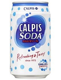 CALPIS  SODA IN LATTINA