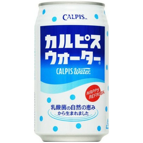 CALPIS  WATER IN LATTINA