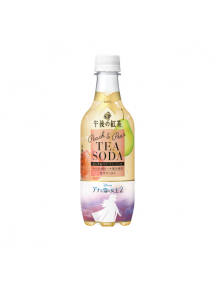 BIBITE GOGO NO KOCHA TEA-SODA PEACH & PEAR