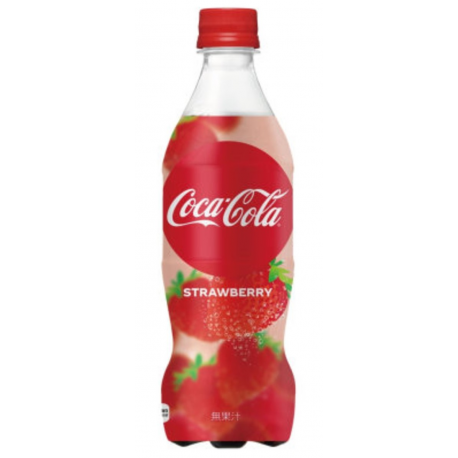 COCA COLA STRAWBERRY JAPAN LIMITED EDITION
