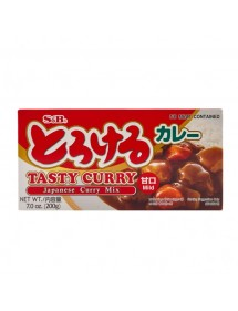CURRY S&B - TASTY CURRY SAUCE MIX - MILD 200g.