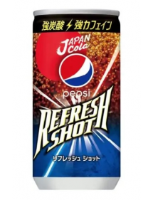 PEPSI JAPAN COLA REFRESH SHOT - DOPPIA CAFFEINA