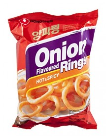 SNACK & PATATINE NONGSHIM - ONION RINGS HOT&SPICY