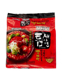 RAMEN ISTANTANEO PACK X 5 BUSTINE TEUMSAE (PICCANTE)
