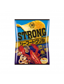 PATATINE STRONG POTATO CHIPS SEAFOOD GRILL
